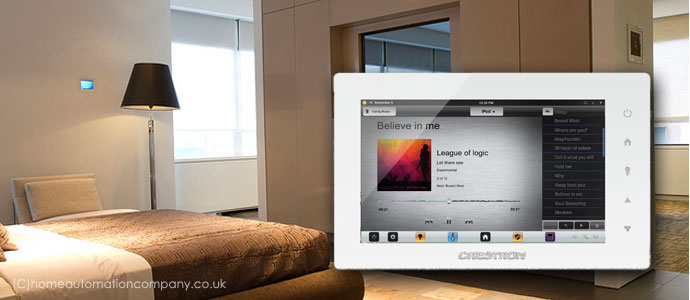 the stunning crestron control panel range touch control in style