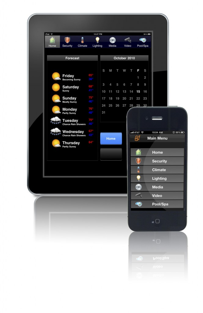 Elan iPhone and iPad control