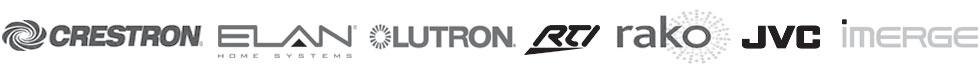 Installers of Crestron, Lutron, Elan, RTI, Rako, JVC, AMX