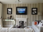 PictureFrame Mirror with TV on