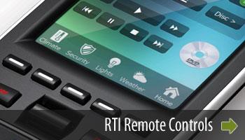 RTI Remote Controls
