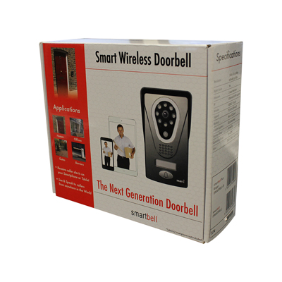 Smartbell Wifi Video Door Entry System Home Automation Company Uk